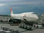 スカイマンタさんが、那覇空港で撮影した日本航空 747-146B/SR/SUDの航空フォト(写真)
