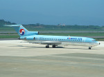 まさのりさんが、長崎空港で撮影した大韓航空 727-281の航空フォト(写真)