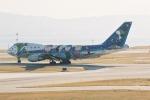 HEATHROWさんが、関西国際空港で撮影した全日空 747SR-81の航空フォト(写真)