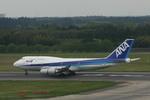 meijeanさんが、成田国際空港で撮影した全日空 747-481の航空フォト(写真)