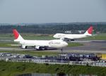 たぁさんが、成田国際空港で撮影した日本航空 747-246B(SF)の航空フォト(写真)