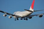 whiteさんが、成田国際空港で撮影した日本航空 747-446の航空フォト(写真)