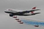こじゆきさんが、フェアフォード空軍基地で撮影したブリティッシュ・エアウェイズ A380-841の航空フォト(写真)
