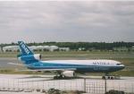 sunagimoさんが、成田国際空港で撮影したニッポン・ミニチュア・ボールベアリング DC-10-30CFの航空フォト(写真)