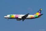 みなかもさんが、羽田空港で撮影したソラシド エア 737-4M0の航空フォト(写真)