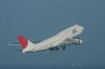 キクさんが、羽田空港で撮影した日本航空 747-146B/SR/SUDの航空フォト(写真)