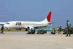 apphgさんが、那覇空港で撮影した日本トランスオーシャン航空 737-4K5の航空フォト(写真)