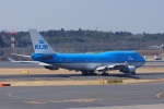 pringlesさんが、成田国際空港で撮影したKLMオランダ航空 747-406の航空フォト(写真)