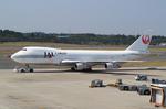 たぁさんが、成田国際空港で撮影した日本航空 747-221F/SCDの航空フォト(写真)