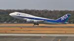 ★パリンドロームさんが、熊本空港で撮影した全日空 747-481(D)の航空フォト(写真)