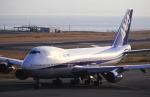 チャーリーマイクさんが、関西国際空港で撮影した全日空 747SR-81の航空フォト(写真)