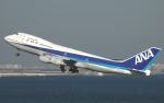 チャーリーマイクさんが、羽田空港で撮影した全日空 747-281Bの航空フォト(写真)