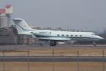 Koenig117さんが、名古屋飛行場で撮影したウェルズ・ファーゴ・バンク・ノースウェスト G-IV Gulfstream IV-SPの航空フォト(写真)