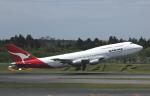 チャーリーマイクさんが、成田国際空港で撮影したカンタス航空 747-338の航空フォト(写真)