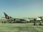 メヘンサルの猿さんが、ドーハ国際空港で撮影したカタール航空 A330-202の航空フォト(写真)
