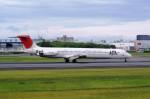 しんさんが、伊丹空港で撮影した日本航空 MD-81 (DC-9-81)の航空フォト(写真)