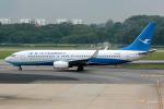 Tomo-Papaさんが、シンガポール・チャンギ国際空港で撮影した厦門航空 737-85Cの航空フォト(写真)