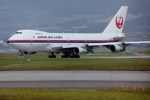 新城良彦さんが、伊丹空港で撮影した日本航空 747-246Bの航空フォト(写真)