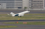 pringlesさんが、羽田空港で撮影したTAG エイビエーション UK BD-700 Global Express/5000/6000の航空フォト(写真)