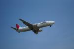 イズシンさんが、小松空港で撮影した日本トランスオーシャン航空 737-4Q3の航空フォト(写真)