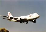 リョウさんが、成田国際空港で撮影した日本アジア航空 747-246Bの航空フォト(写真)