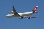 肉食獣さんが、成田国際空港で撮影したスイスインターナショナルエアラインズ A340-313Xの航空フォト(写真)