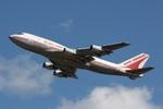 肉食獣さんが、成田国際空港で撮影したエア・インディア 747-337Mの航空フォト(写真)