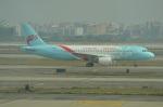 amagoさんが、広州白雲国際空港で撮影した浙江長龍航空 A320-214の航空フォト(写真)