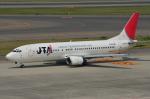 krd_134さんが、中部国際空港で撮影した日本トランスオーシャン航空 737-4Q3の航空フォト(写真)