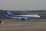 apphgさんが、成田国際空港で撮影した全日空 747-481の航空フォト(写真)