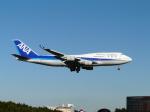 hryk207さんが、成田国際空港で撮影した全日空 747-481の航空フォト(写真)