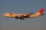 木人さんが、成田国際空港で撮影した日本航空 747-246Bの航空フォト(写真)