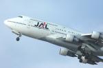 チャーリーマイクさんが、福岡空港で撮影した日本航空 747-146B/SR/SUDの航空フォト(写真)