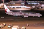 ヨルダンさんが、成田国際空港で撮影したニューギニア航空 737-8BKの航空フォト(写真)