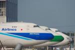 さくらの城南山。さんが、成田国際空港で撮影した日本貨物航空 747-481F/SCDの航空フォト(写真)