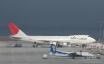 チャーリーマイクさんが、中部国際空港で撮影した日本航空 747-221F/SCDの航空フォト(写真)