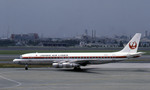 Gambardierさんが、伊丹空港で撮影した日本航空 DC-8-53の航空フォト(写真)