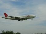 landing_lightさんが、成田国際空港で撮影した日本航空 747-346の航空フォト(写真)