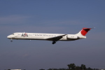 だいちゃん@RJSSさんが、仙台空港で撮影した日本航空 MD-81 (DC-9-81)の航空フォト(写真)