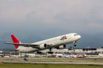 こだしさんが、熊本空港で撮影した日本航空 767-346の航空フォト(写真)