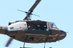 てつうしさんが、真駒内駐屯地で撮影した陸上自衛隊 UH-1Jの航空フォト(写真)