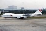 amagoさんが、ドンムアン空港で撮影した日本航空 747-221F/SCDの航空フォト(写真)