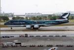 amagoさんが、ドンムアン空港で撮影したキャセイパシフィック航空 747-467の航空フォト(写真)