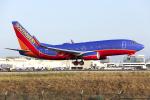 HND Spotter Rei U.さんが、ロサンゼルス国際空港で撮影したサウスウェスト航空 737-7H4の航空フォト(写真)