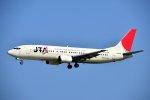 ちいたさんが、那覇空港で撮影した日本トランスオーシャン航空 737-4Q3の航空フォト(写真)