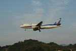倉庫長さんが、福岡空港で撮影した全日空 A320-211の航空フォト(写真)