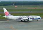 なごやんさんが、新千歳空港で撮影したチャイナエアライン 737-809の航空フォト(写真)