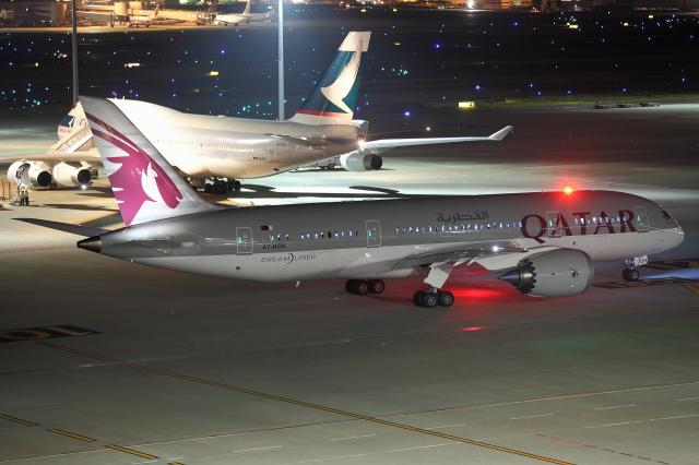 カタール航空 Boeing 787-8 Dreamliner A7-BCH 羽田空港  航空フォト | by kinsanさん