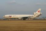 さっしんさんが、名古屋飛行場で撮影した日本航空 MD-11の航空フォト(写真)