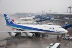 さっしんさんが、中部国際空港で撮影した全日空 747-481の航空フォト(写真)